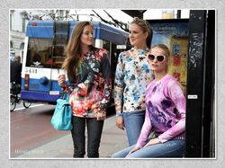 Printed Woolen Top or Pullover