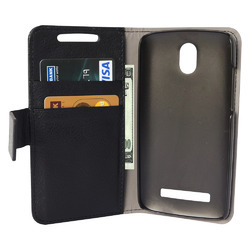 Mobile Leather Case Cover For HTC Desire 500