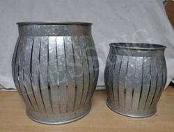 Round Open Lanterns Set