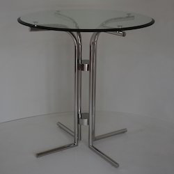 Discussion Table with Glass Top
