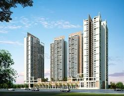 2 BHK APT FOR SALE IN  KALPATARU RADIANCE