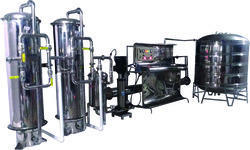 Mineral Water Treatment Plant 3000 LPH ISI