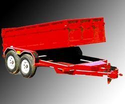 Four Wheel Tandem Axle Type Tractor Trailer
