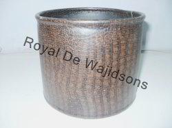 Leather Pot Metal