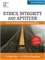 Ethics, Integrity And Aptitude Book