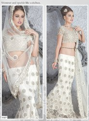 Beautiful Designer Ivory Lehenga Choli