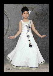 Elegant White Gown For Kids