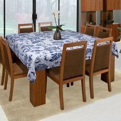 Kantha Table Cover Lotus Design