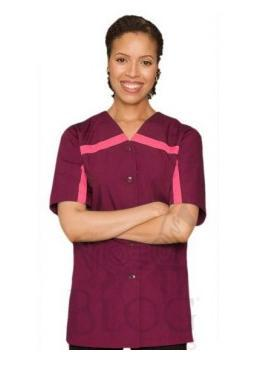 Women 39 s spa uniform custom made spa uniform manufacturer for Spa uniform china