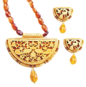 D Shape Thewa Jewellery