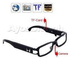 Spy Reading Glasses Hidden Camera