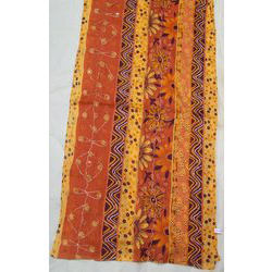 Cotton Printed Embroidered Fancy Stoles