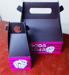 Custom Printed Take Away Cup Cake Boxes