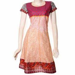 Jaipuri Printed Cotton Anarkali Kurti