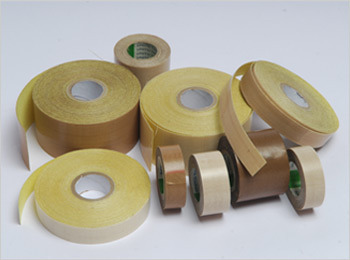 PTFE Coated Fibreglass Tapes