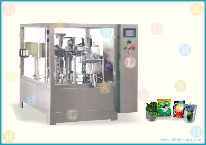 Automatic Rotary Zip Lock Bag Filling and Sealing Packaging Equipment