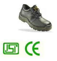 Black Knight Ex. Leather Safety Shoe ISI CE Approved