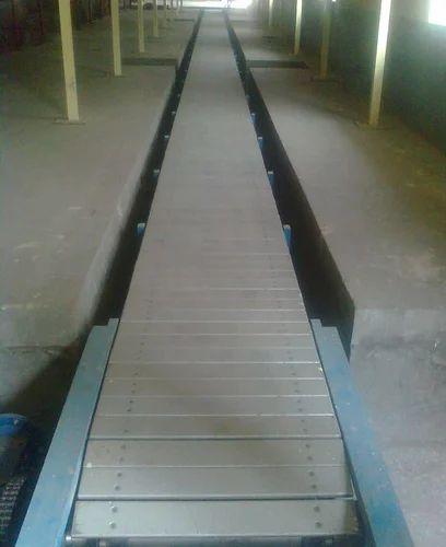 Electric Operated Slat Conveyor
