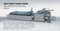 Semi-Automatic Flute-Laminating Machine