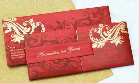 Indian Wedding Invitation Cards Vishwas Card Creation
