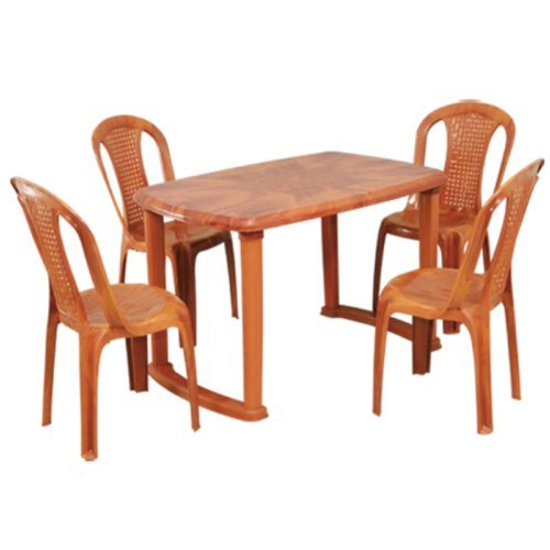 Plastic Dining Table With Chair   Luxury Chairs U0026 Table Exporter From  Kolkata