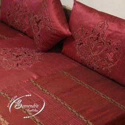 Embroidery Silk Bed Covers