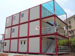 Modular Office Site Container