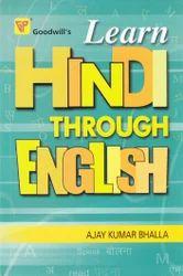 Goodwill Learn Hindi Through English Books
