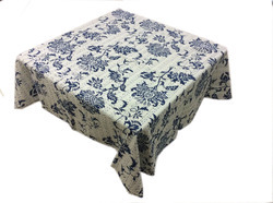 New Cotton Kantha Lotus Design Table Cover