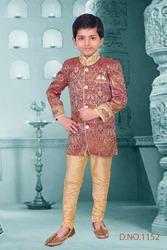 Embroidered Boys Sherwani