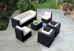 Wicker Sofa Set