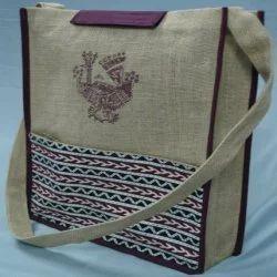 Side Sling Jute Jhola Bag