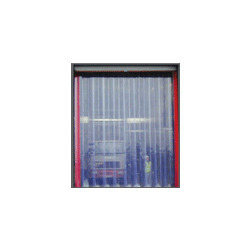 buffer or double ribbed pvc strip doors