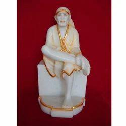 Sitting Sai Baba Statue