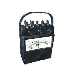 power factor meter analog portable