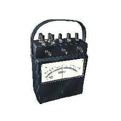 power factor meter analog portable