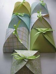 Custom Made Paper Petal Boxes