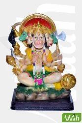 Polyresin Panchmukhi Hanuman Statue