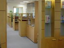Office Wood Partition