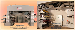 Six Colour Flexo Plastic Bag Printing Machine