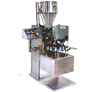 Automatic Single Head Rotary Indexing  Tube Filling Machine -Manual Feed