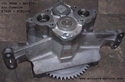 oil pump cummins kta38