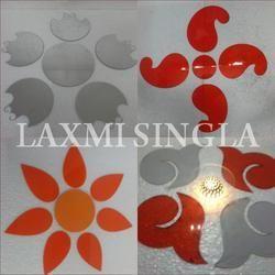 Acrylic Rangoli Design