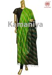 Handloom Embroidered Silk Dupattas