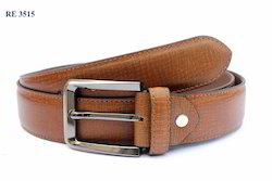 Pure Brown Formal Belts