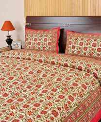 Floral Design Printed Bed Covers