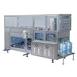 Semi Automatic 20 Ltr Jar Washing Filling & Capping Machine