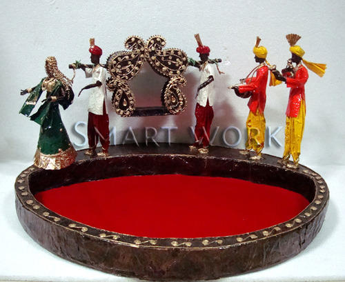 Decorative wedding trays wedding trays manufacturer from navi mumbai wedding trays junglespirit Images