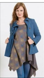 ladies fancy overcoat