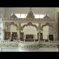 Marble Mandir - White Marble Stone Mandir Manufacturer from Jaipur